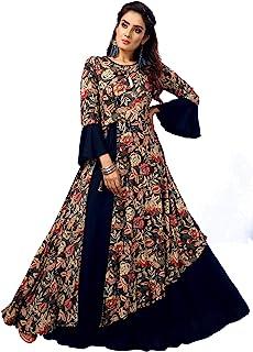 Madhuram Textiles Women's Rayon Regular Kurta