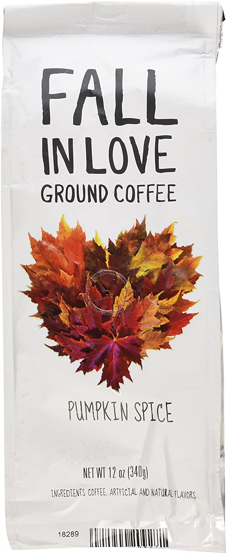 Fall In Love Pumpkin Spice Flavored Coffee, 12 Oz