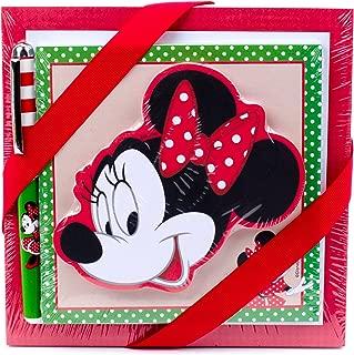 Hallmark 5SOM2140 Minnie Mouse Notepad Set (3 Notepads, 1 Pen)