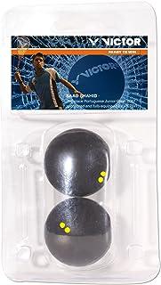 Victor 170/7/0 Squashball Blister - Black