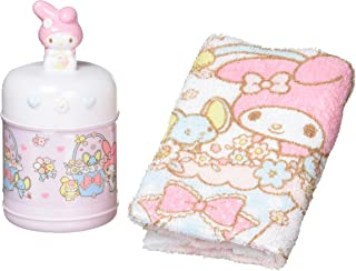 My Melody towel & Case (Flower)