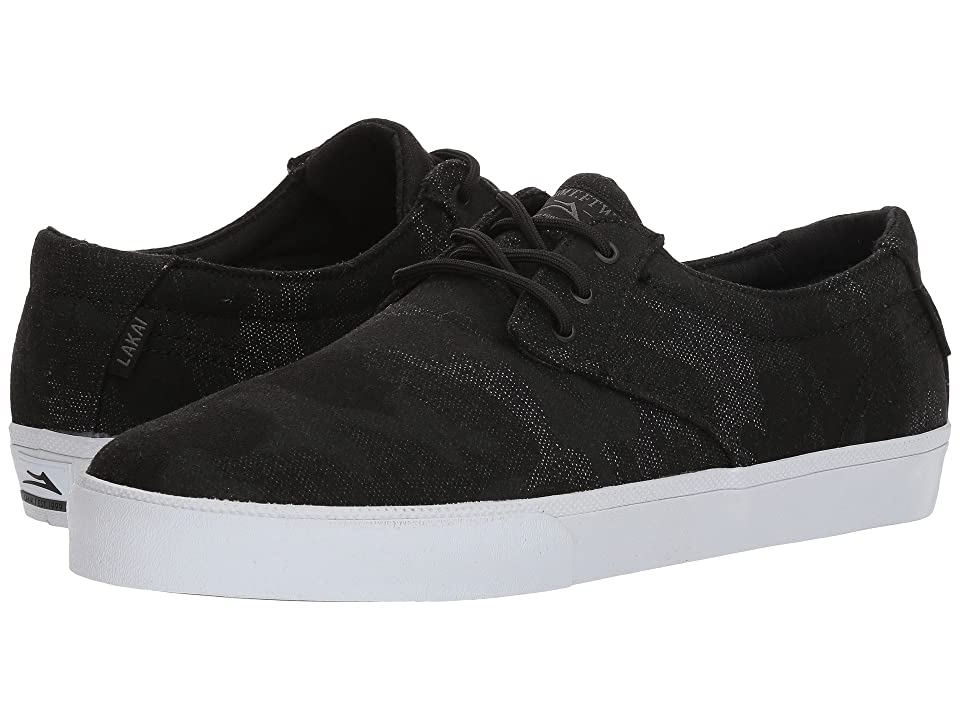 Lakai Daly (Black Camo Textile) Men