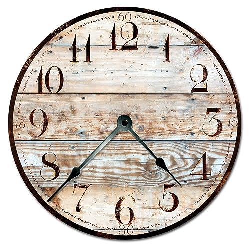 Extra Large Wall Clocks Amazoncom
