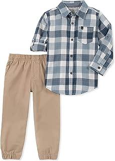 Calvin Klein Boys' 2 Pieces Shirt Pant Set