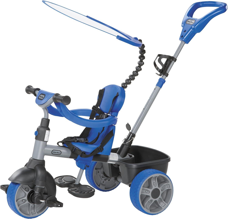 Little tikes 634314E4 - Triciclo LT 4 in 1 Trike, Coloreee  Blu