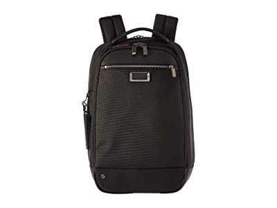 Briggs & Riley @work Medium Slim Backpack (Black) Backpack Bags