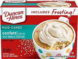 Duncan Hines 10644209425621 Mug Cakes, Confetti Cake and Frosting