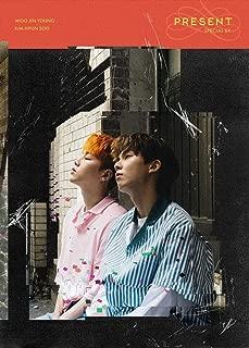 Kakao M WOO JIN Young Kim Hyun SOO - Present (Special EP) CD+Photobook+4Photocards