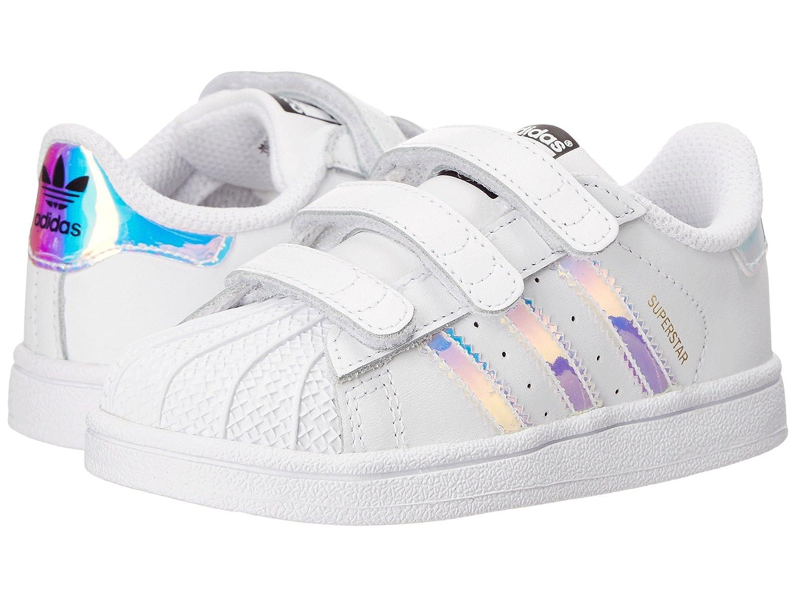 adidas Originals Kids Superstar Metallic CMF INF (Toddler)Atmospheric grades have affordable shoes