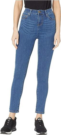 High-Waisted Skinny 7/8 Jeans