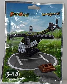 بانباو لعبة تركيب طائرة الهيلوكبتر للاطفال ، 29 قطعة ، 7212