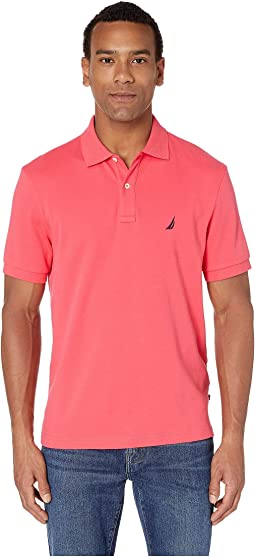 54ddbb5b9787 2. Nautica. Short Sleeve Solid Interlock Polo