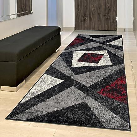 Amazon.it: tappeti moderni - Rosso: Casa e cucina