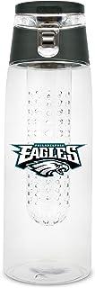 NFL Philadelphia Eagles 20oz Plastic Infuser Sport Bottle