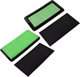 HQRP 2-Pack Air Filter Combo (Cartridge + Pre-Filter) Works with Honda 06172-Z0A-305, 17211-Z0A-013, 17218-Z0A-810, 17218-...