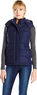 Joules Womens W_WAVELY Wavely Hooded Gilet Raincoat