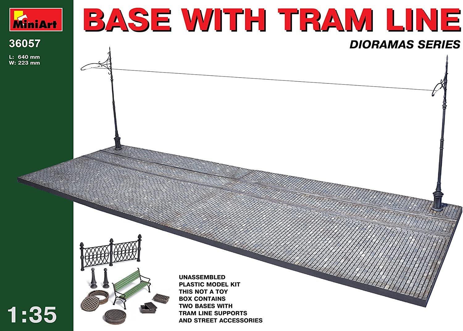 Base with Tram Line (1 35)