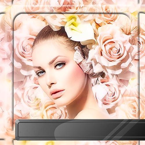 Rosen-Blumen-Foto-Rahmen