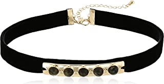 Marcks Black Choker Necklace