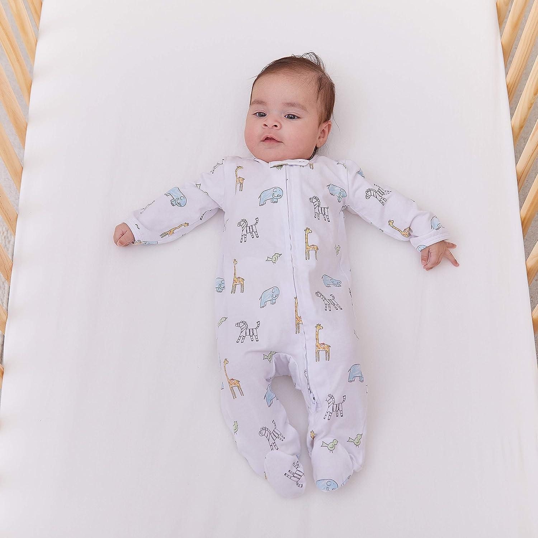 aden + anais Baby Long Sleeve Zipper One-Piece: Baby