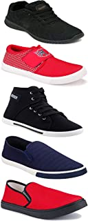 Shoefly Sports Running Shoes/Casual/Sneakers/Loafers Shoes for Men&Boys (Combo-(5)-1219-1221-1140-303-1017)