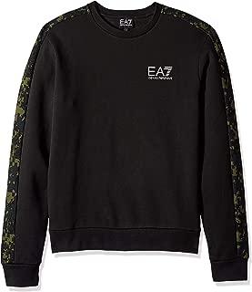 Emporio Armani Men's Train Graphic Series Camouflage Sweater