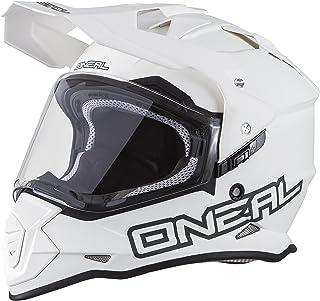 O'Neal 0817-515 Unisex-Adult Full-face Style Sierra II Helmet Flat White XL (61/62cm) (