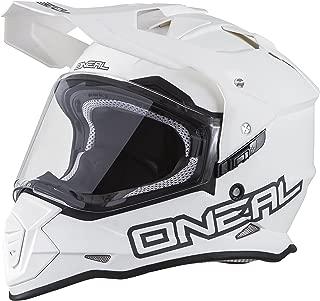 O'Neal Unisex-Adult Full-face Style Sierra II Helmet Flat White L (59/60cm) (Large)