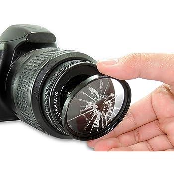 Nikon AF-S DX Nikkor 18-55mm f//3.5-5.6G VR II 52mm Ultraviolet Filter 52 mm UV Filter Pro Glass 52mm HD MC UV Filter for 52mm UV Filter