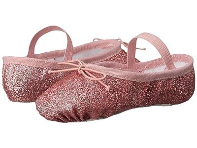 Bloch Kids Glitter Dust Ballet Slipper (Toddler/Little Kid) (Rose) Girl