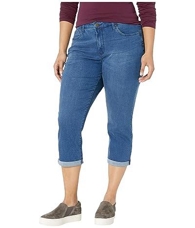 NYDJ Plus Size Plus Size Chloe Capri Jeans in Market (Market) Women