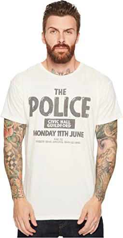 The Original Retro Brand - The Police Guilford Vintage Distressed Concert T-Shirt