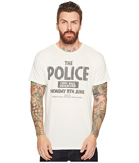 The Distressed Retro Original Guilford T Concert Police Shirt Vintage Brand The rqrBwx05