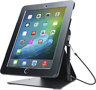 CTA Digital PAD-DASB Desktop Anti-Theft iPad Stand, Black