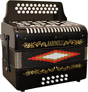 Baronelli Accordion (AC3112G-BK)