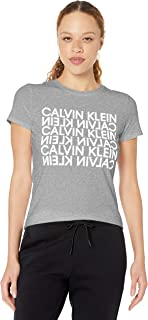 Calvin Klein Women's Graphic Short Sleeve Tee