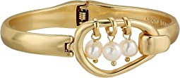 Dangle Pearl Cuff Bracelet