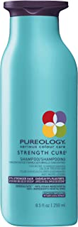 Pureology Strength Cure Strengthening Shampoo | For Damaged, Color Treated Hair | Sulfate-Free | Vegan | 8.5 oz.