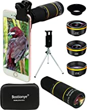 Phone Camera Lens Kit 4 in 1 for iPhone Samsung Pixel One Plus Huawei,22X Telephoto Lens,120°Super Wide Angle&25X Macro Le...