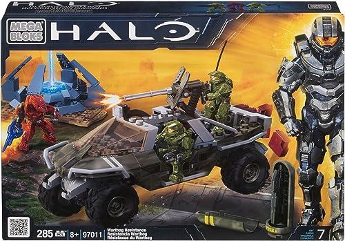 descuento de ventas en línea Mega Bloks 97011 97011 97011 Halo Warthog Resistance  descuentos y mas