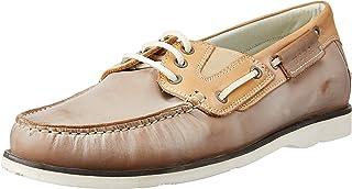 US Polo Association Men's Leather Boat Shoes