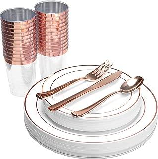 Best gold rim dinner set Reviews