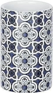 Wenko cerámica Portacepillos Azul, Murcia, Azul Oscuro, 6.5