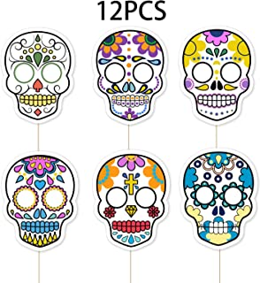 day of the dead skulls to decorate