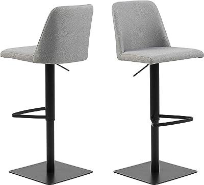 60 x H 70-82 cm 60 x T Heinz Hofmann 8230.CPW Drehsessel // Kunstleder // Wei/ß // B