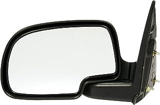 Dorman 955-1179 Driver Side Manual Door Mirror - Folding for Select Chevrolet/GMC Models, Black