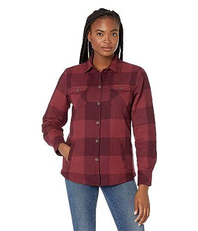 Ariat R.E.A.L. Shacket Shirt Jacket (Wineberry Buffalo) Women