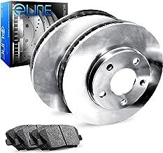 For 2010-2013 Kia Soul Rear Brake Rotors+Ceramic Brake Pads
