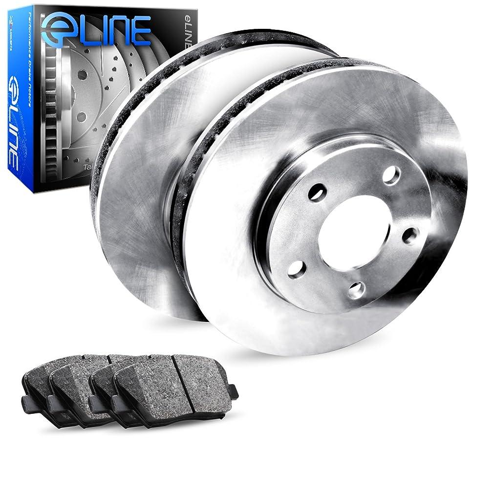 [REAR] eLine Replacement Brake Rotors & Ceramic Brake Pads