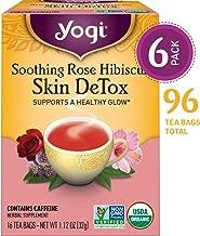 rose tea for skin
